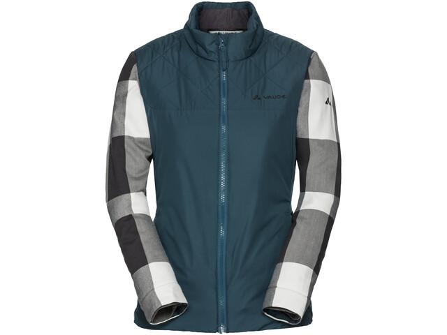 VAUDE Cyclist II Padded Jacket Women, petrol/grijs